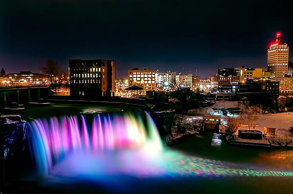 High Falls (US02772) - Cities - Bella Mondo Photography