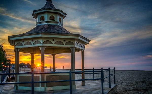 Ontario Beach Sunset (US045) - Landscape - Bella Mondo Images