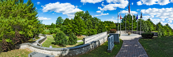 Rochester Vietnam Memorial (US0245) - Panorama - Bella Mondo Images