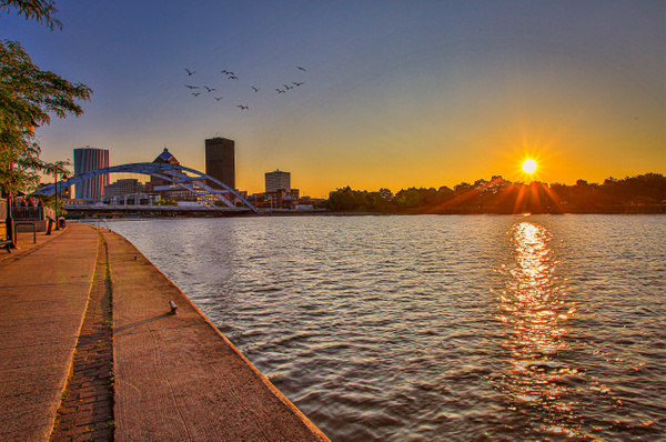 sunrise Corn Hill Landing (US1681) - Cities - Bella Mondo Photography
