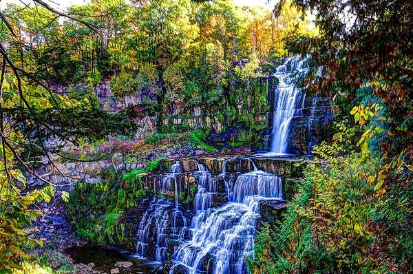 Chittenango Falls (US0264) - Additional Information - Bella Mondo Images