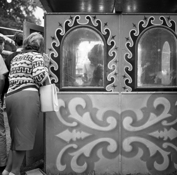 Cassiobury Fair, Watford 1962 by samwells