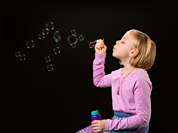 Blowing Bubbles - Home - Lightweaver Photography
