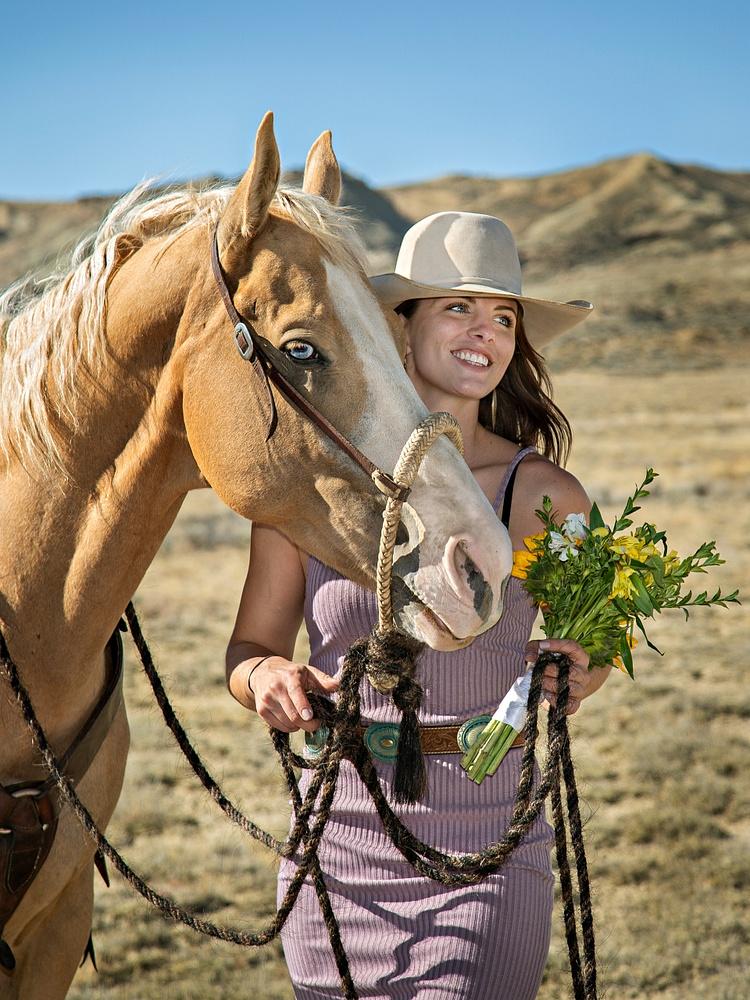 Western Bridesmaid