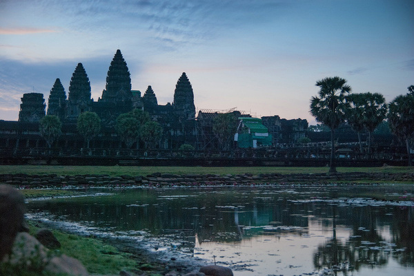 Angkor Wat by MariaMurashova