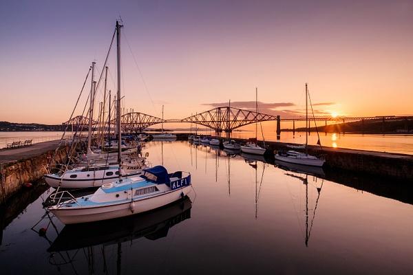 Queensferry Harbour - Forth Bridges