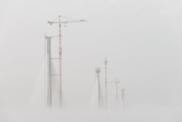 Cloud Construction - Forth Bridges