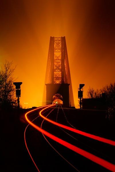 Northbound - Forth Bridges