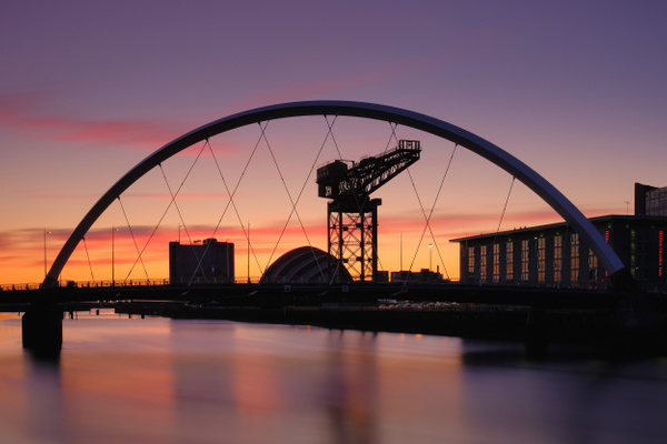 The Clyde Arc, Glasgow - Urban and cityscape photography