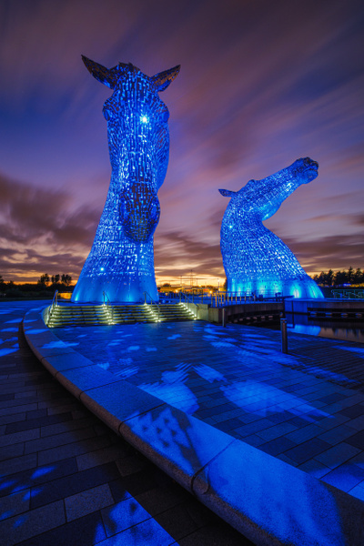 The Kelpies - Urban and cityscape photography