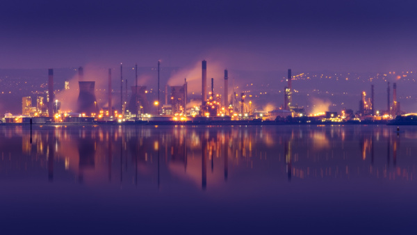 Grangemouth Refinery - Urban and cityscape photography