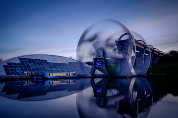 The Falkirk Wheel - Urban and cityscape photography