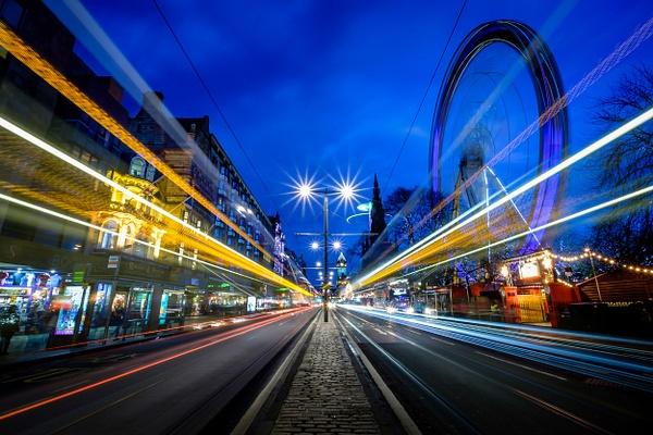 Princes Street, Edinburgh - Urban and cityscape photography