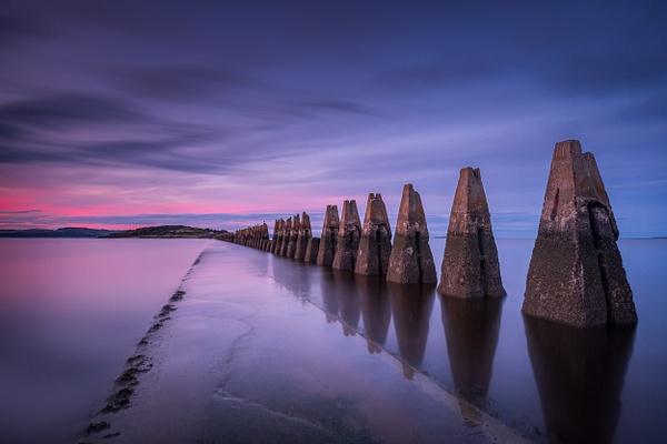 Cramond Causeway - Sea & Coastline - David Queenan Photography