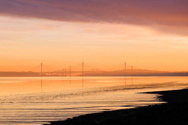 The Forth Bridges - Sea & Coastline - David Queenan Photography