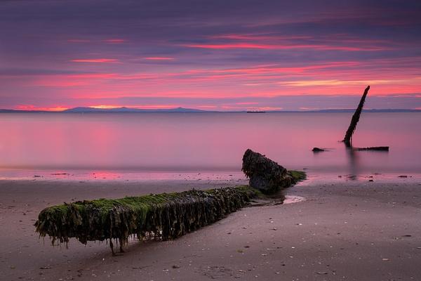 Longniddry Wreck - Sea & Coastline - David Queenan Photography