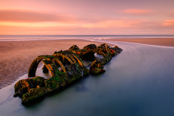 Aberlady Midget Submarine Wreck - Sea & Coastline - David Queenan Photography