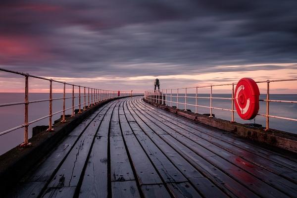 Whitby Pier - Sea & Coastline - David Queenan Photography