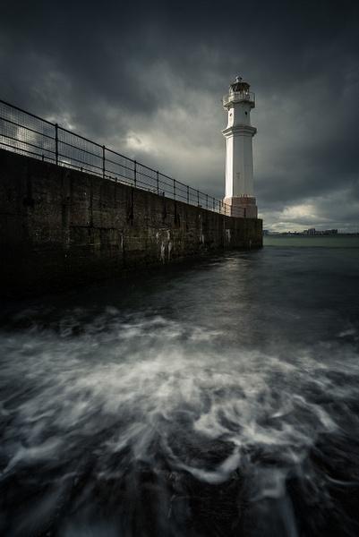 Newhaven Lighthouse - Sea & Coastline - David Queenan Photography
