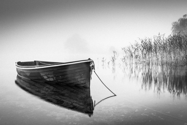Loch Ard - Monochrome photography