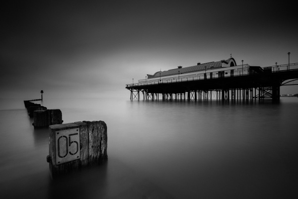 Cleethorpes Pier - Monochrome photography