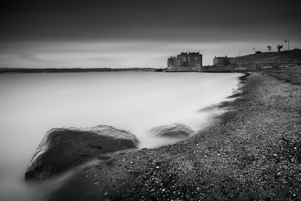 Blackness Castle - Monochrome photography