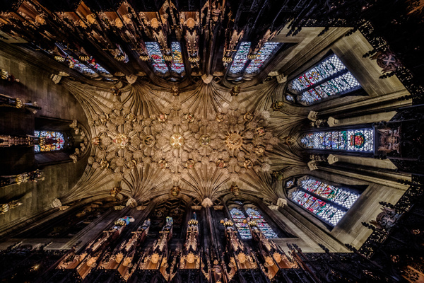 The Thistle Chapel, St Giles Cathedral - Architecture Photography