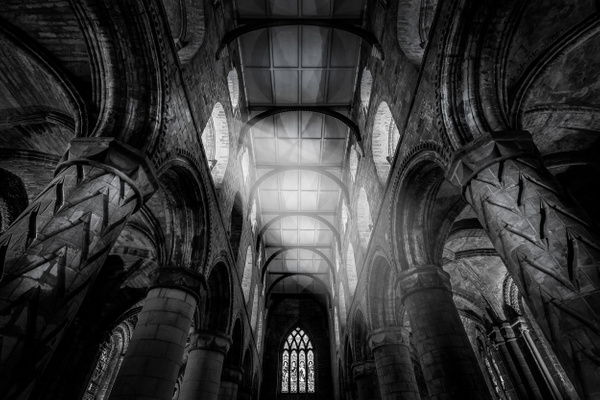 Dunfermline Abbey - Architecture Photography