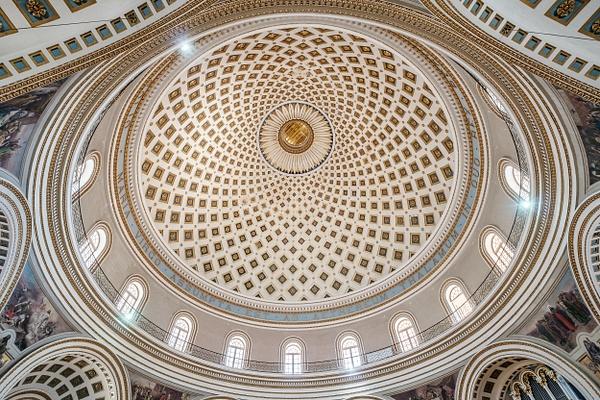 Mosta Dome, Malta - Architecture Photography