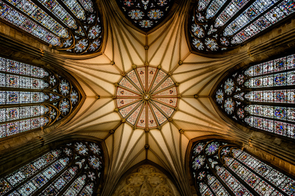 Chapter House, York Minster - Architecture Photography
