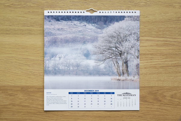 The Scotsman 2019 Calendar - Published photography work