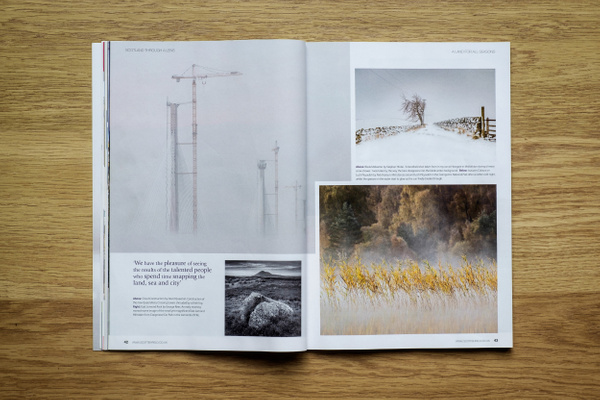 Scottish Field Magazine - Published photography work