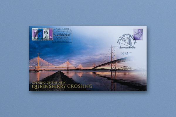 Queensferry Crossing Commemorative Envelope - Published photography work