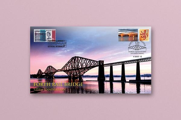 Forth Bridge Commemorative Envelope - Published photography work