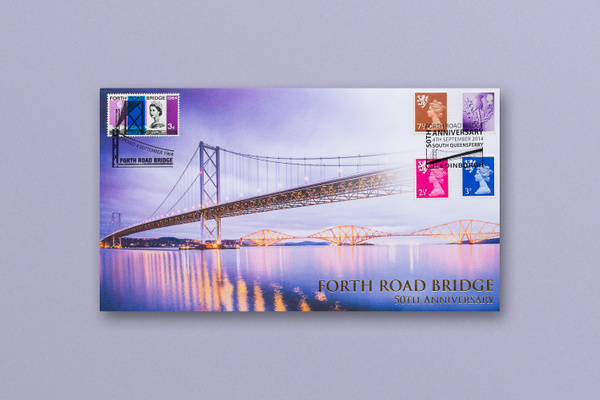Forth Road Bridge Commemorative Envelope - Published photography work