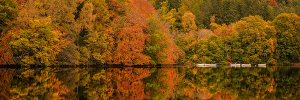 River Tummel, Pitlochry - Panoramic landscape photography
