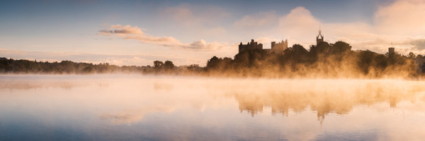Linlithgow Palace - Panoramic landscape photography