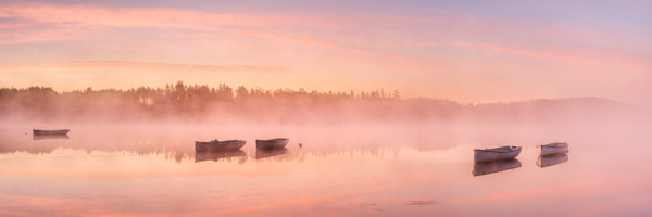 Loch Rusky - Panoramic landscape photography