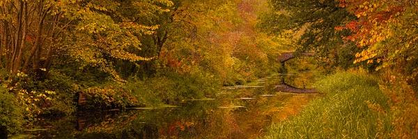 Union Canal, West Lothian - Panoramic landscape photography
