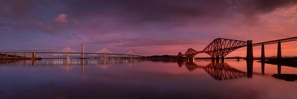 Forth Bridges - Panoramic landscape photography