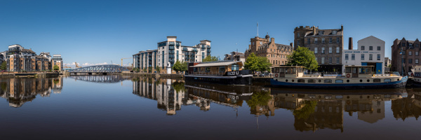 The Shore, Leith - Panoramic landscape photography