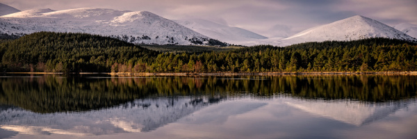 Loch Morlich, Aviemore - Panoramic landscape photography