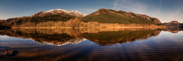 Loch Lubnaig - Panoramic landscape photography