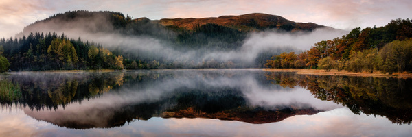 Loch Chon - Panoramic landscape photography