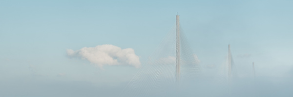 Cloud Crossing - Panoramic landscape photography