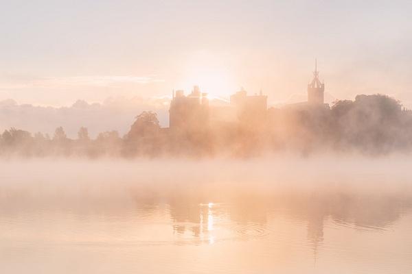 Linlithgow Palace at Sunrise - Scottish Landscape Photography