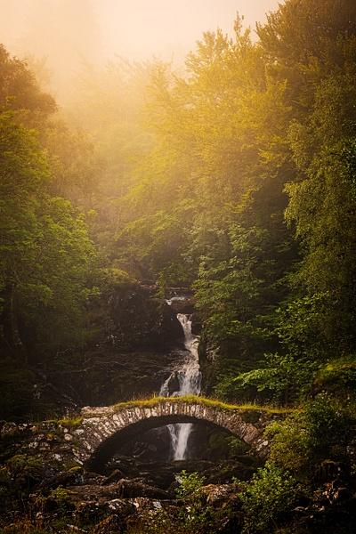 Allt Da Ghob Waterfall, Glen Lyon - Scottish Landscape Photography