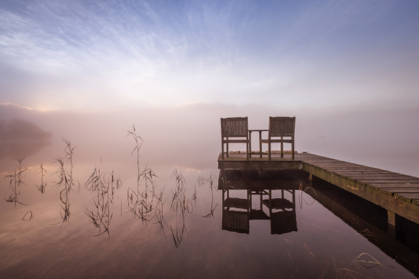 Table For Two, Loch Ard - Scottish Landscape Photography