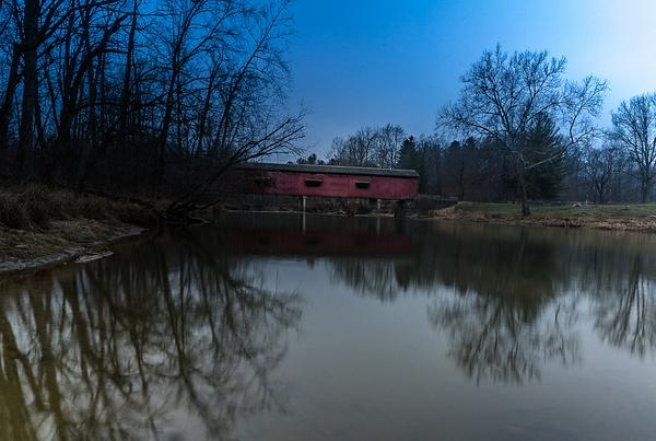 210107_Cataract Covered Bridge - Waterfalls - Mark Edwards Photography