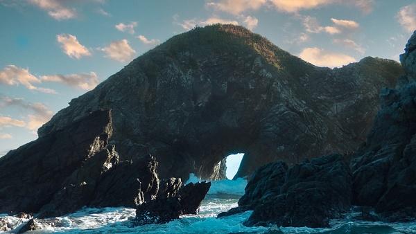 keyhole_zipolite, Porto Escondido, Mx - Tides - Mark Edwards Photography
